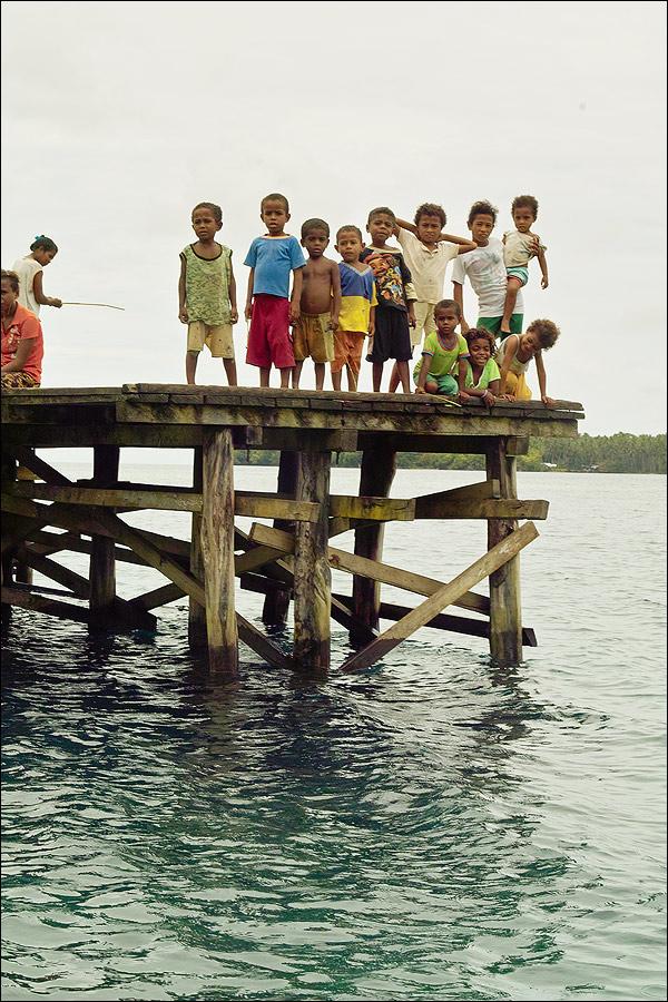 Пять мистеров в Папуа.